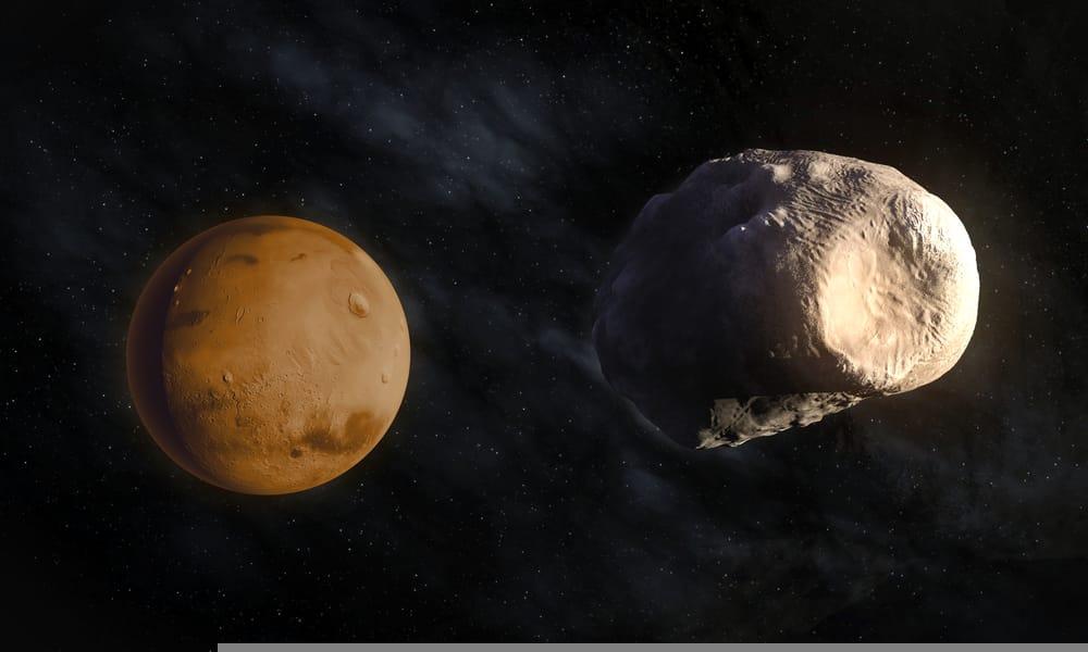 """მარსის უკან მოძრავი ასტეროიდი შეიძლება, მთვარის დიდი ხნის წინ დაკარგული """"ტყუპისცალი"""" იყოს — #1tvმეცნიერება"""