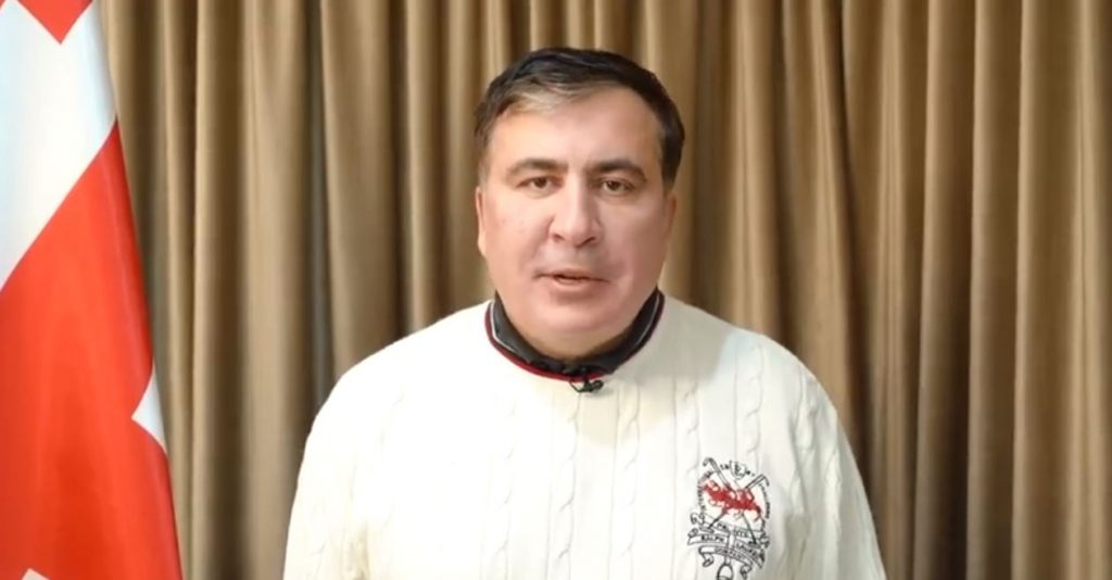 Mikheil Saakashvili – What is happening in Georgia, is bravery, I would like to hail unity of all leaders of opposition