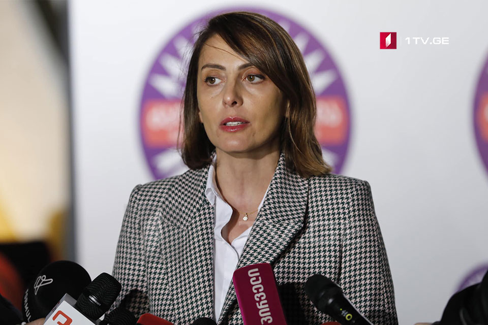 Khatia Dekanoidze – It is regrettable that Chairman of Party makes statements without prior discussions