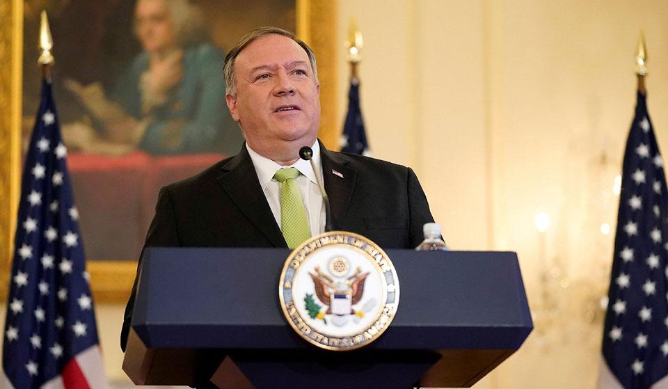17 ноября Грузию посетит госсекретарь США Майк Помпео