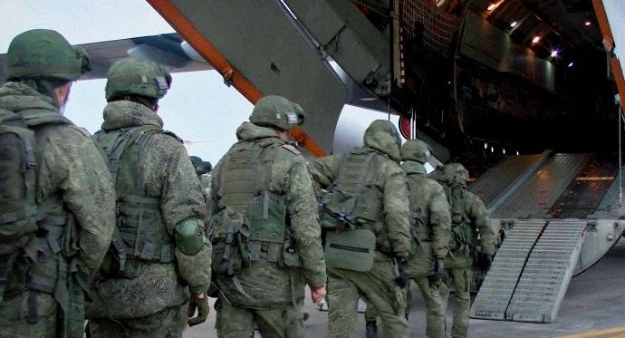 რუსეთის თავდაცვის უწყების ცნობით, სომხეთში 200-ზე მეტი რუსი სამხედრო ჩავიდა