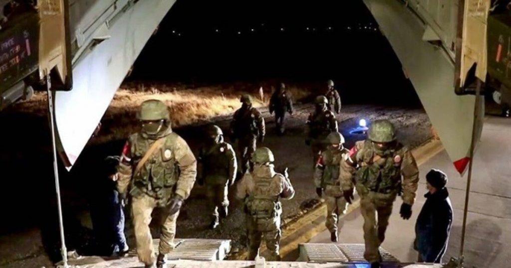 რუსეთის თავდაცვის უწყების ცნობით, სომხეთში ჩასული რუსი სამხედროები მთიან ყარაბაღში, ოპერაციის ზონისკენ უკვე გაემართნენ