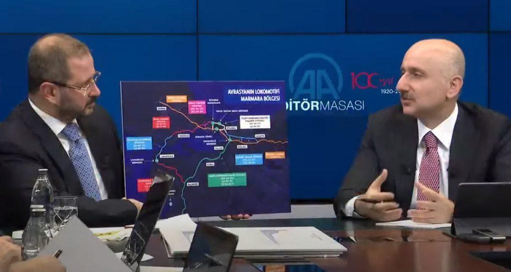 თურქეთი აზერბაიჯანის ავტონომიურ რესპუბლიკა ნახიჩევანთან დამაკავშირებელ რკინიგზას გაიყვანს