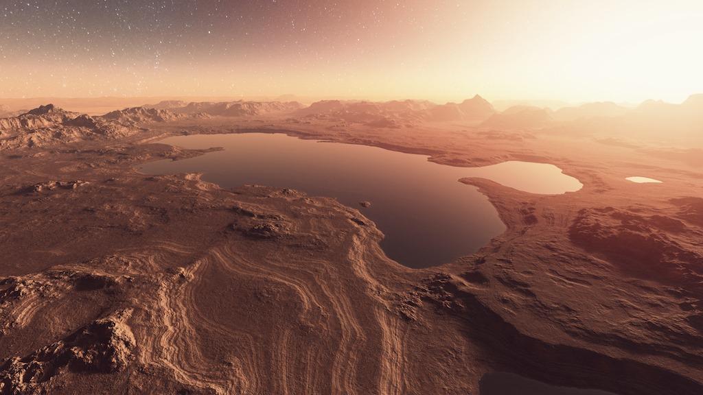 მარსული წარმოშობის მეტეორიტი მიუთითებს, რომ წითელ პლანეტაზე წყალი ჯერ კიდევ მაშინ იყო, ვიდრე დედამიწაზე სიცოცხლე აღმოცენდებოდა — #1tvმეცნიერება