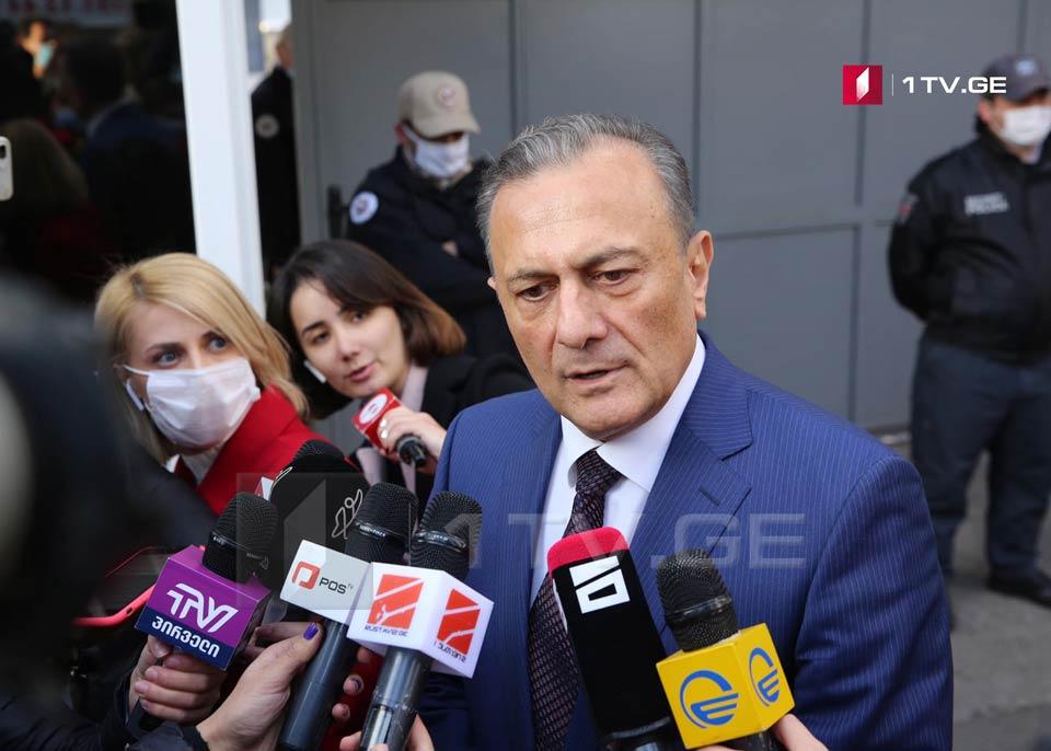 Шалва Нателашвили - Я не могу говорить о деталях встречи с послами, однако я не видел оппозицию такой единой и не мог представить