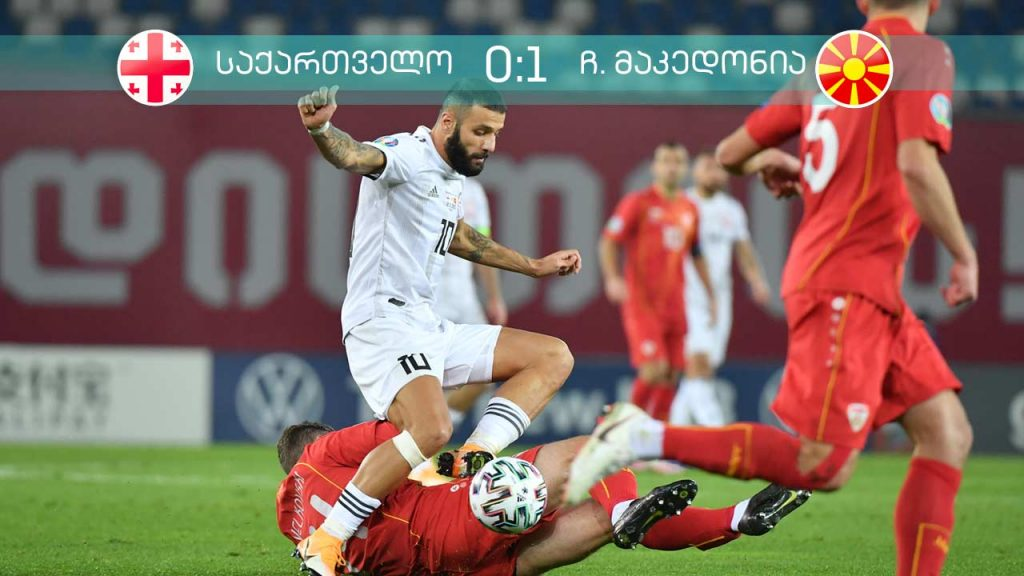North Macedonia defeats Georgia