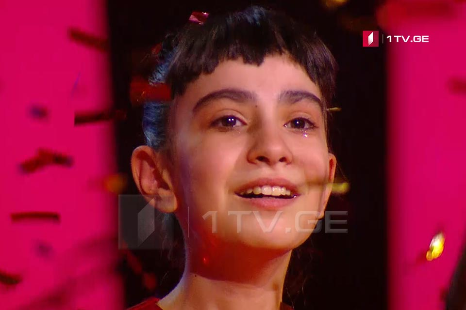 Georgia's Voice at Junior Eurovision Song Contest  - Sandra Gadelia became the winner of Ranina