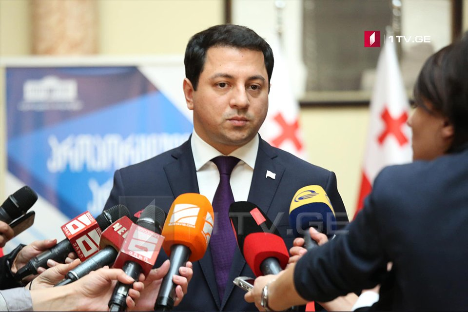 Арчил Талаквадзе - Максимально стараемся сблизить позиции, чтобы демократия и политическая система нашей страны продолжали стабильно функционировать