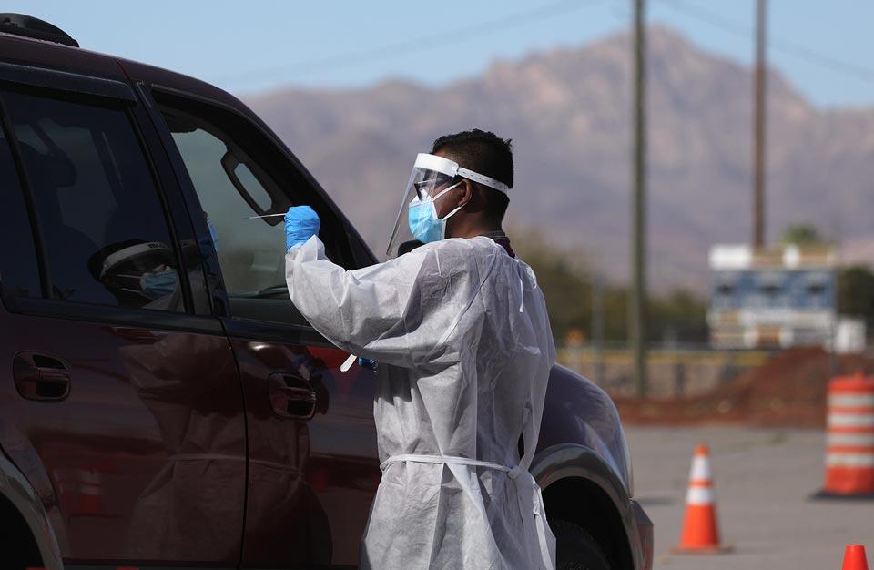 ABŞ-da koronavirusun 116 716 yeni halı aşkar edildi, 917 pasiyent vəfat etdi