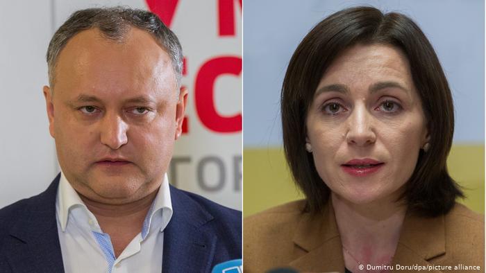 Moldovada prezident seçkilərinin ikinci turu keçirilir