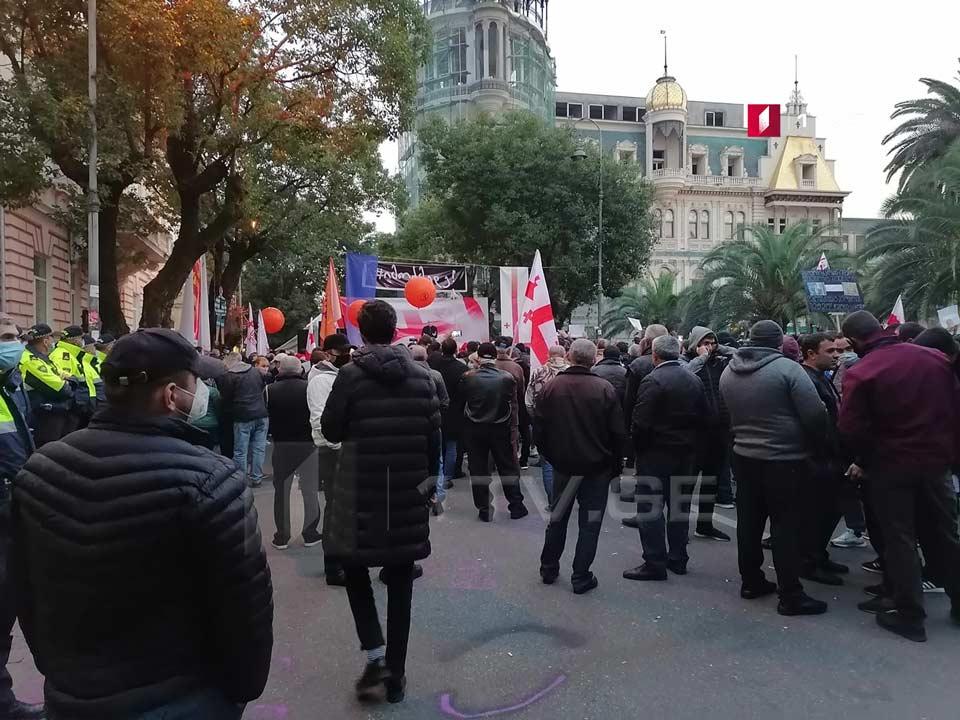 """Batumidə keçirilən aksiyanı """"Lelo"""" partiyasının nümayəndələri tərk etdilər"""