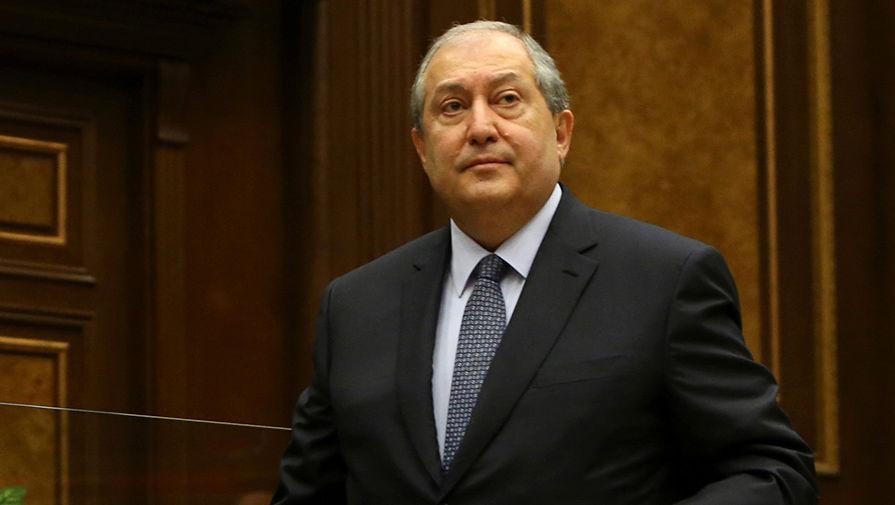 Հայաստանի նախագահը հայտարարում է, որ երկրում պետք է անց կացվեն արտահերթ խորհրդարանական ընտրություններ