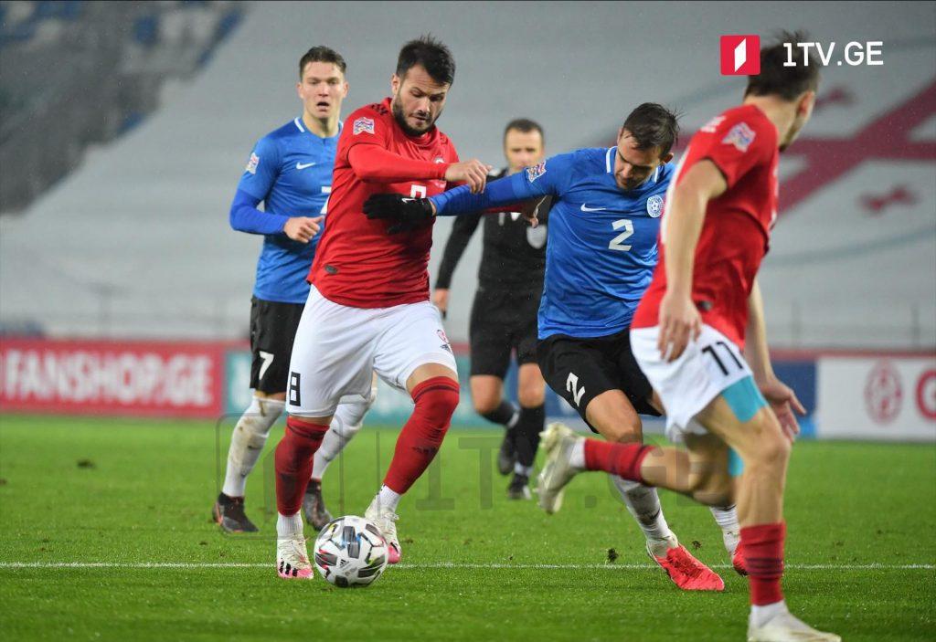 Nations League – Georgia vs. Estonia 0:0