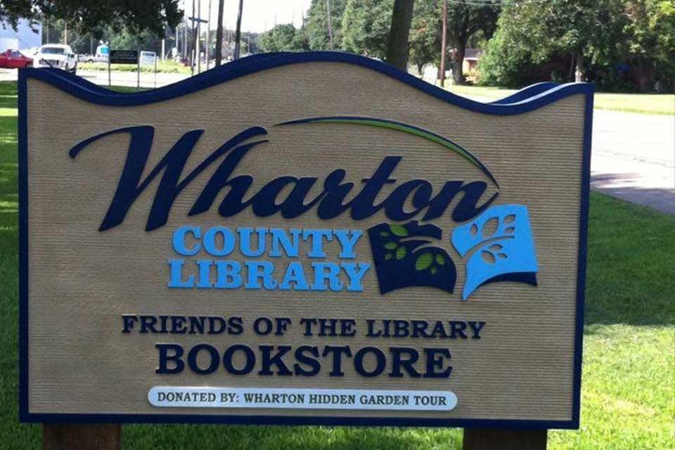 #სახლისკენ - ხალხთან ახლოს - ტეხასის შტატის ვორტონის ოლქის საჯარო ბიბლიოთეკის ხიბლი