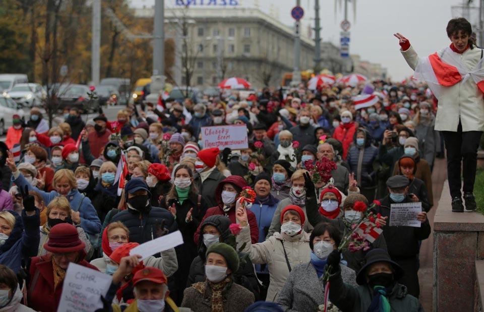 """""""როიტერის"""" ინფორმაციით, ევროკავშირის ლიდერები ბელარუსის წინააღმდეგ სანქციების გამკაცრებაზე შეთანხმდნენ"""