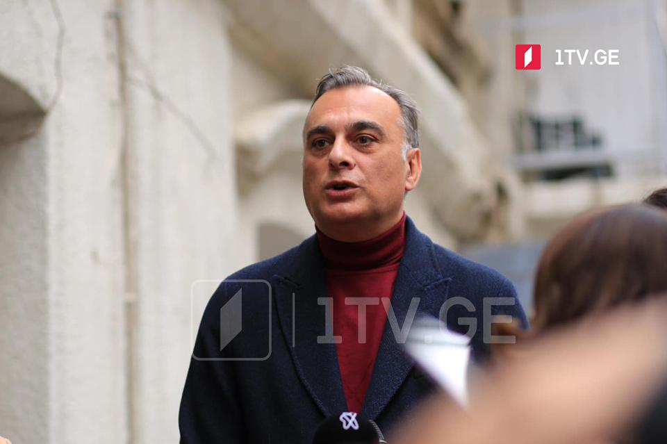Zaal Udumaşvili - Almaniya səfiri ilə razılaşıram ki, itiriləsi vaxtımız yoxdur, lakin ismarıcın adresatı yalnız müxalifət deyil