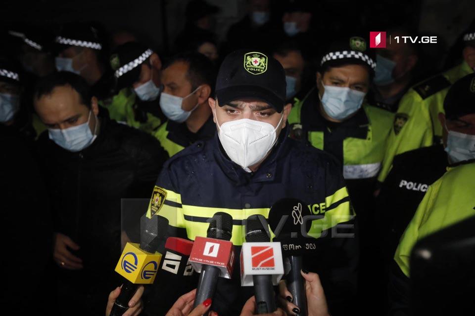 """Vaja Siradze media vasitələrini Sereteli prospektində """"MBC"""" binasında mövcud durumun birbaşa efirininin yayılmasının dayandırılmasına çağırır"""