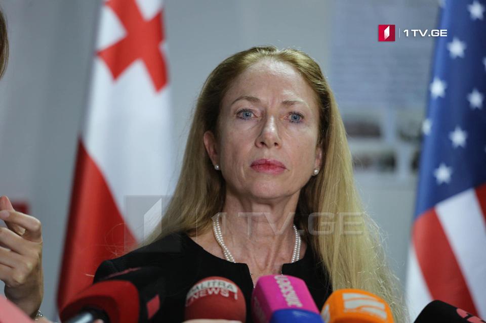 Келли Дегнан - Если лидеры партий ставят интересы Грузии на первое место, это побудит их найти выход и начать работать в парламенте
