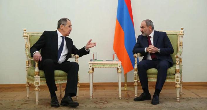 Երևանում կայացել է Սերգեյ Լավրովի և Նիկոլ Փաշինյանի հանդիպումը