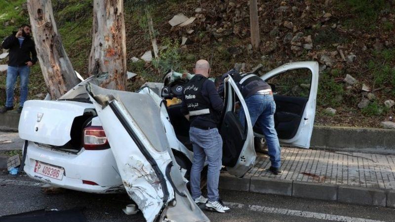ლიბანის ციხიდან გაქცეული ხუთი პატიმარი ავტოავარიაში დაიღუპა