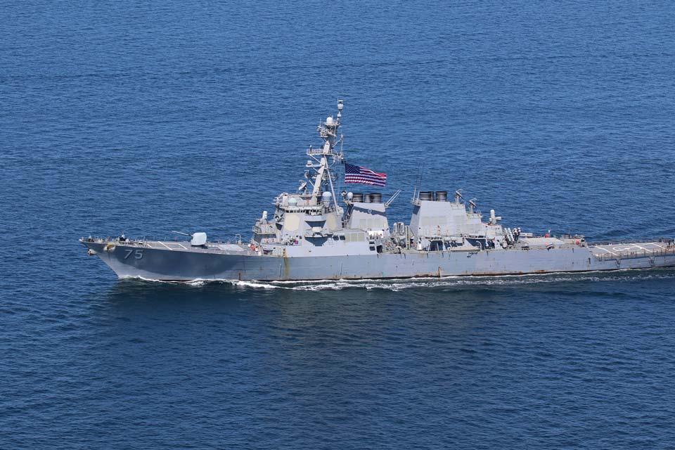 U.S. Navy Warship USS Donald Cook Enters Black Sea