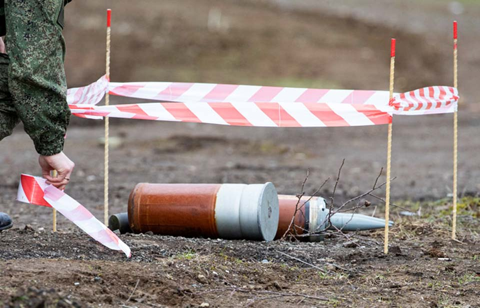 Dağlıq Qarabağ münaqişə zonasında mərminin partlaması nəticəsində, azərbaycanlı əsgər həlak oldu, rus hərbçisi isə, yaralandı