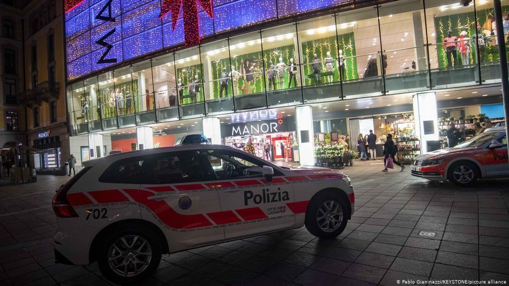 შვეიცარიის ქალაქ ლუგანოს სავაჭრო ცენტრში თავდასხმა მოხდა, პროკურატურა ტერორიზმს არ გამორიცხავს