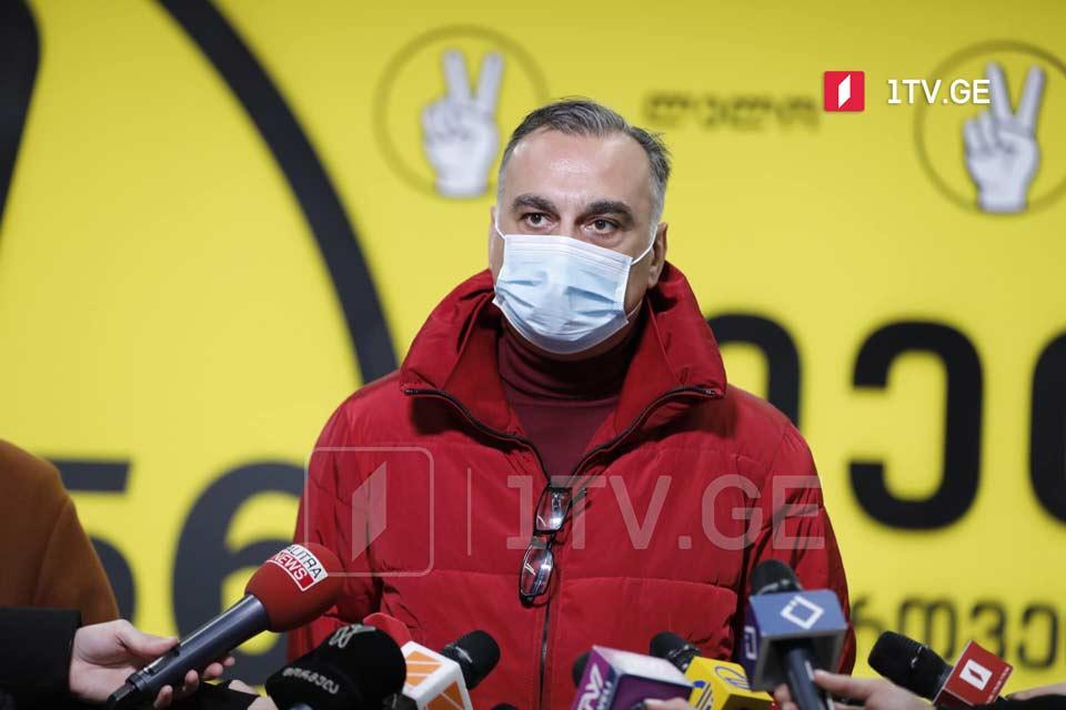 Zaal Udumaşvili - seçkilərin nəticələrini tanımırıq, lakin büdcədən bizə düşən məbləği tələb edirik
