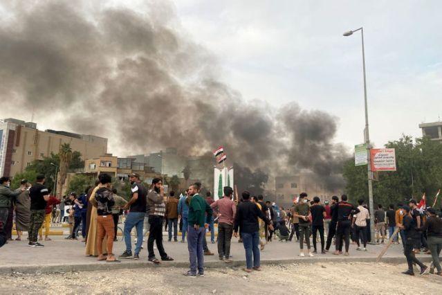 ერაყის ქალაქ ნასირიაში ალ-სადრის მიმდევრებსა და ანტისამთავრობო აქციის მონაწილეებს შორის შეტაკება მოხდა