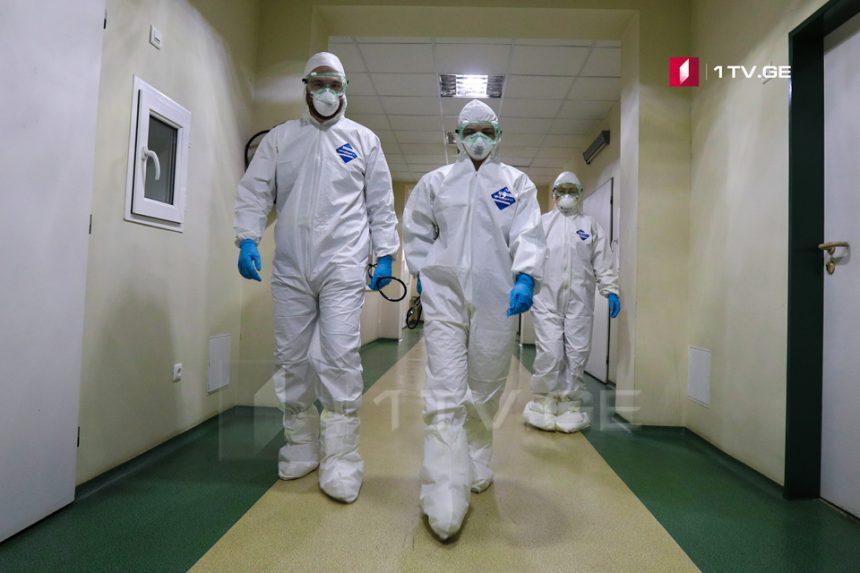 Статистика новых случаев коронавируса по регионам Грузии
