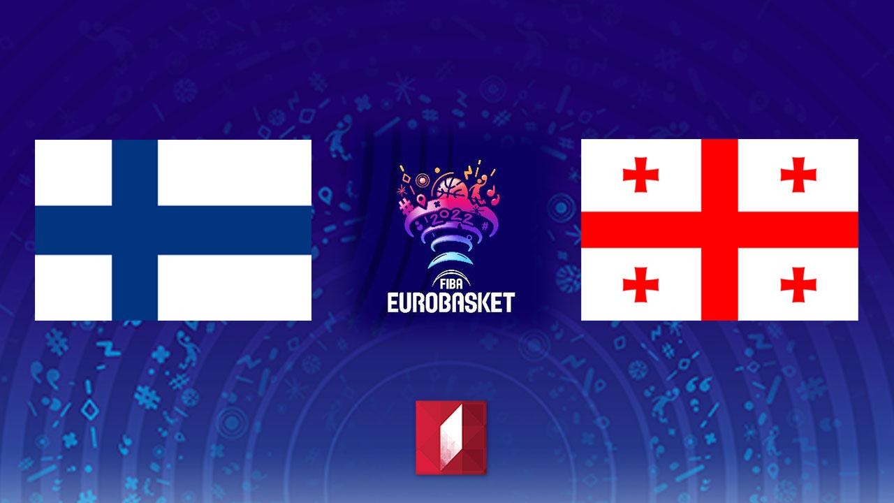 #კალათბურთი ფინეთი - საქართველო #LIVE ევროპის 2022 წლის ჩემპიონატის შესარჩევი ეტაპის მატჩი