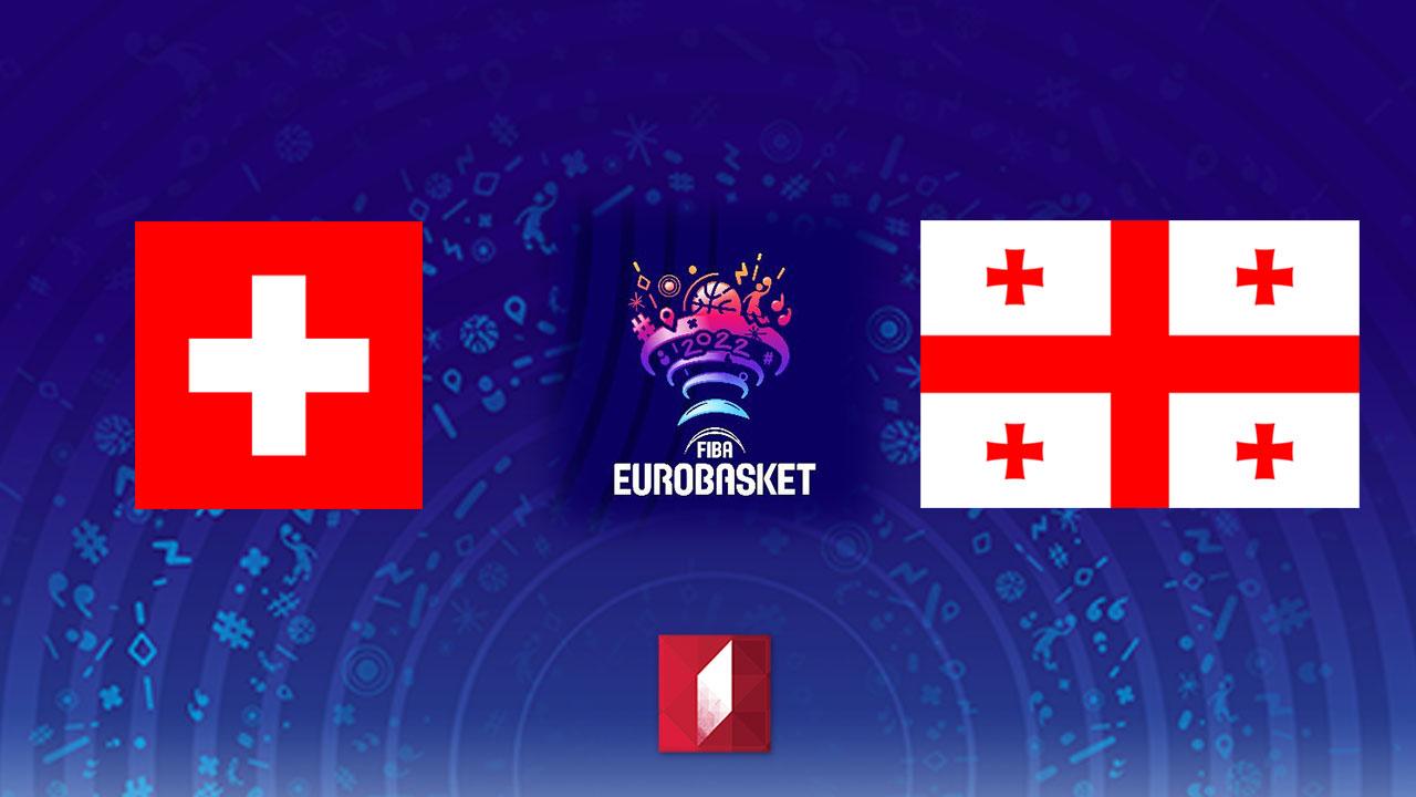 #კალათბურთი შვეიცარია - საქართველო #LIVE ევროპის 2022 წლის ჩემპიონატის შესარჩევი ეტაპის მატჩი