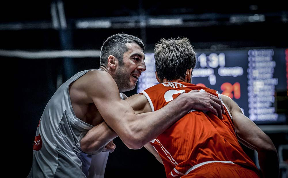 Eurobasket 2022   Georgia defeated Switzerland and leads with four wins after four rounds