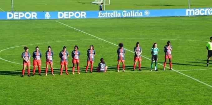 ესპანეთში ქალთა გუნდის ფეხბურთელმა მარადონას მოძალადე უწოდა და წუთიერ დუმილში მონაწილეობა არ მიიღო