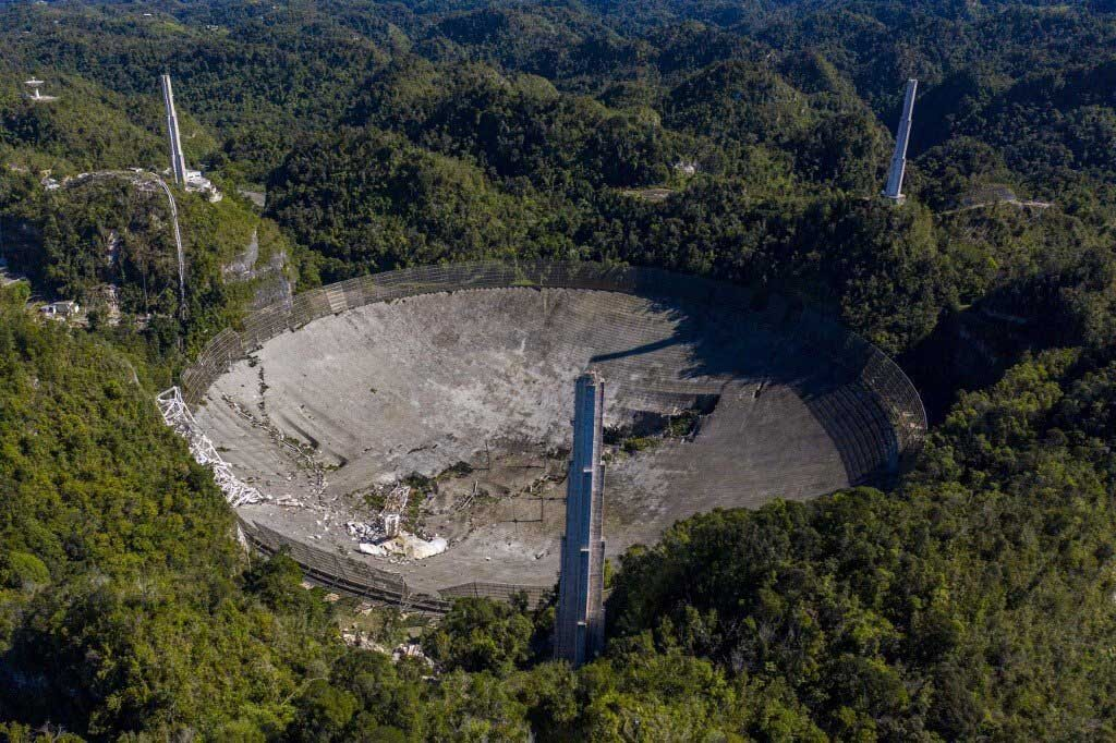 სახელგანთქმული არესიბოს ტელესკოპი აღარ არსებობს, ჩაინგრა — #1tvმეცნიერება
