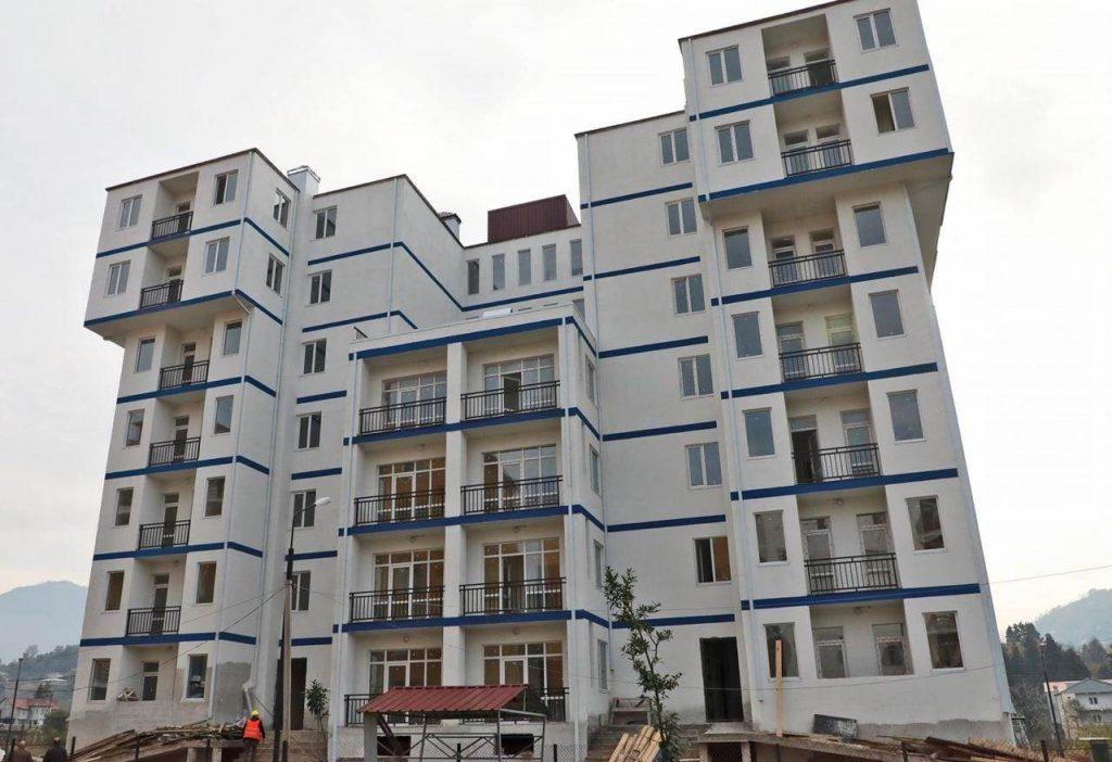ხელვაჩაურში სოციალური სახლის მშენებლობა სრულდება