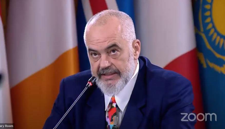 ალბანეთის პრემიერ-მინისტრი - ეუთო-ში ალბანეთის პრეზიდენტობის ერთ-ერთი პრიორიტეტი საქართველოში კონფლიქტისგან დაზარალებული მოსახლეობის მდგომარეობაა