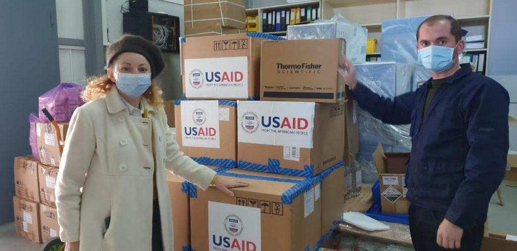 U.S. Government donates 26 thousand PCR testing kits to NCDC