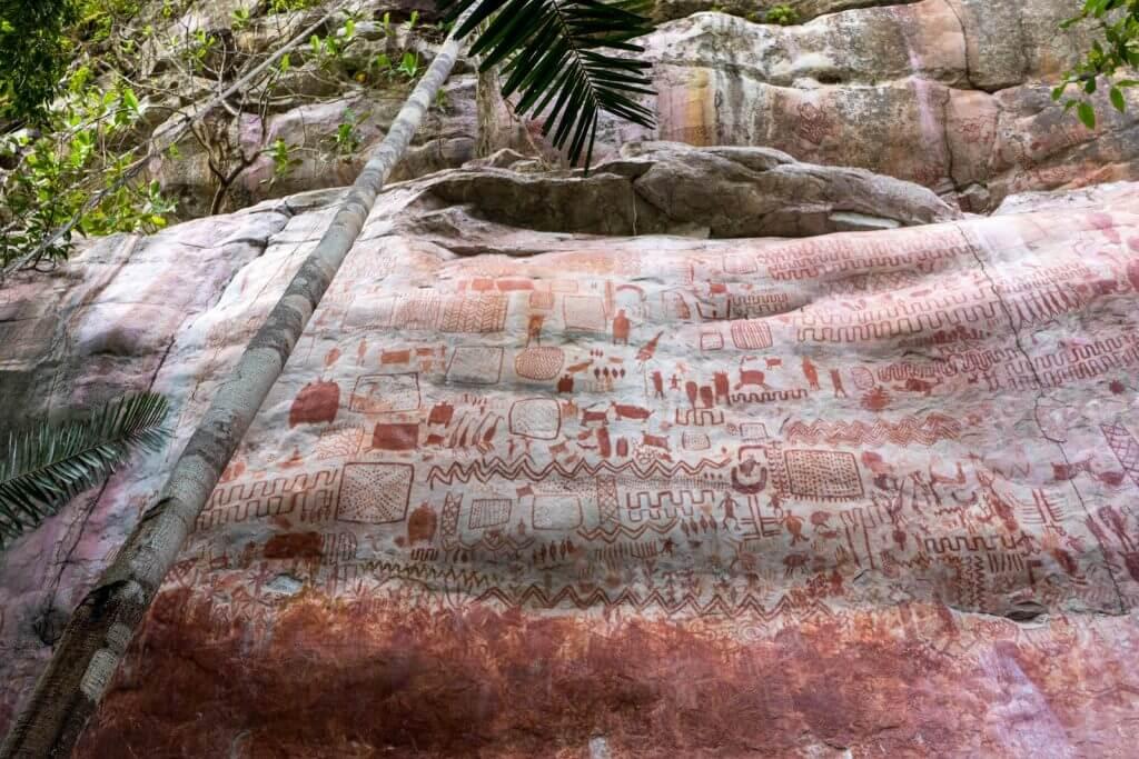 ამაზონის ჯუნგლებში აღმოჩენილი კლდის მხატვრობა მიუთითებს, რომ რეგიონის უძველესი ადამიანები გამყინვარების ხანის გიგანტურ ცხოველებთან ერთად ცხოვრობდნენ — #1tvმეცნიერება