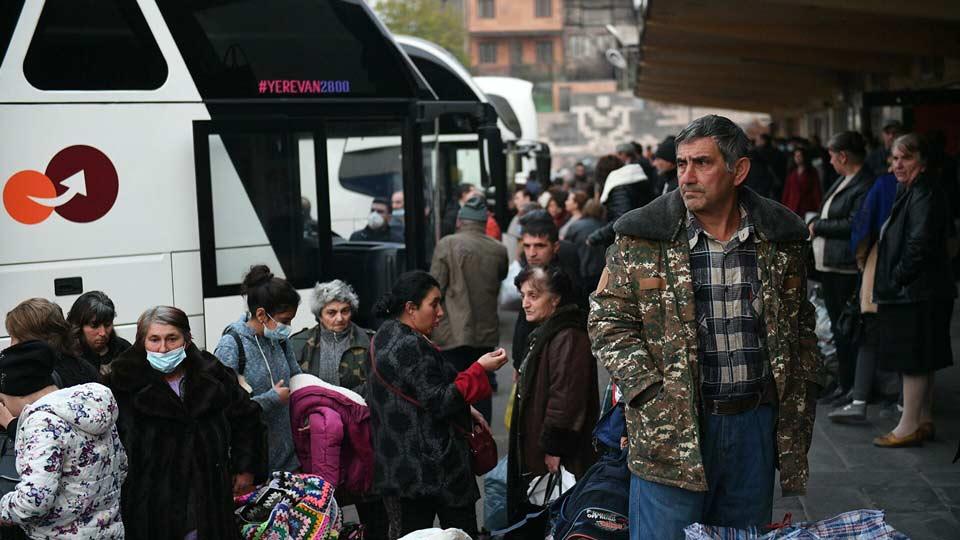 Rusiya Müdafiə Nazirliyinin məlumatına görə, Dağlıq Qarabağa 34 mindən artıq qaçqın qayıtdı
