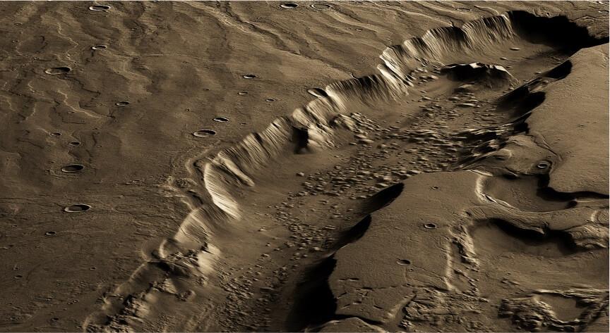 მკვლევართა ჯგუფმა გამოავლინა საუკეთესო ადგილები მარსზე, სადაც შეიძლება, ერთ დროს სიცოცხლე არსებობდა — #1tvმეცნიერება