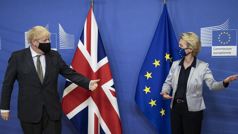ბრექსიტის სავაჭრო შეთანხმებასთან დაკავშირებით, გაერთიანებული სამეფოს პრემიერ-მინისტრსა და ევროკომისარ ურსულა ფონ დერ ლაიენს შორის მოლაპარაკება უშედეგოდ დასრულდა