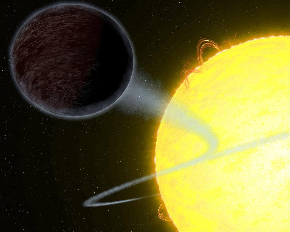 გალაქტიკის ერთ-ერთი ყველაზე შავი პლანეტა ცეცხლოვანი აღსასრულისთვის არის განწირული — ახალი კვლევა #1tvმეცნიერება