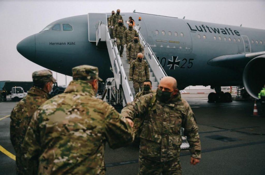 Արևմտյան հրամանատարության երրորդ հետևակային բրիգադի հավաքական հարյուրյակը վերադարձել է RSM-ի նախափոխադրական զորավարժություններից