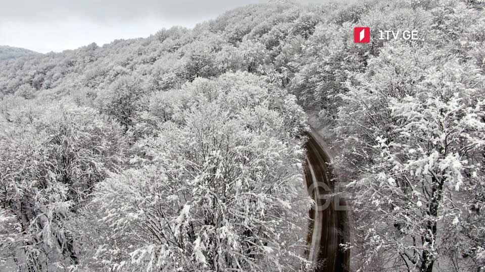 კობი-გუდაურის საგზაო მონაკვეთზე მომდევნო რამდენიმე დღის განმავლობაში თოვლი იქნება
