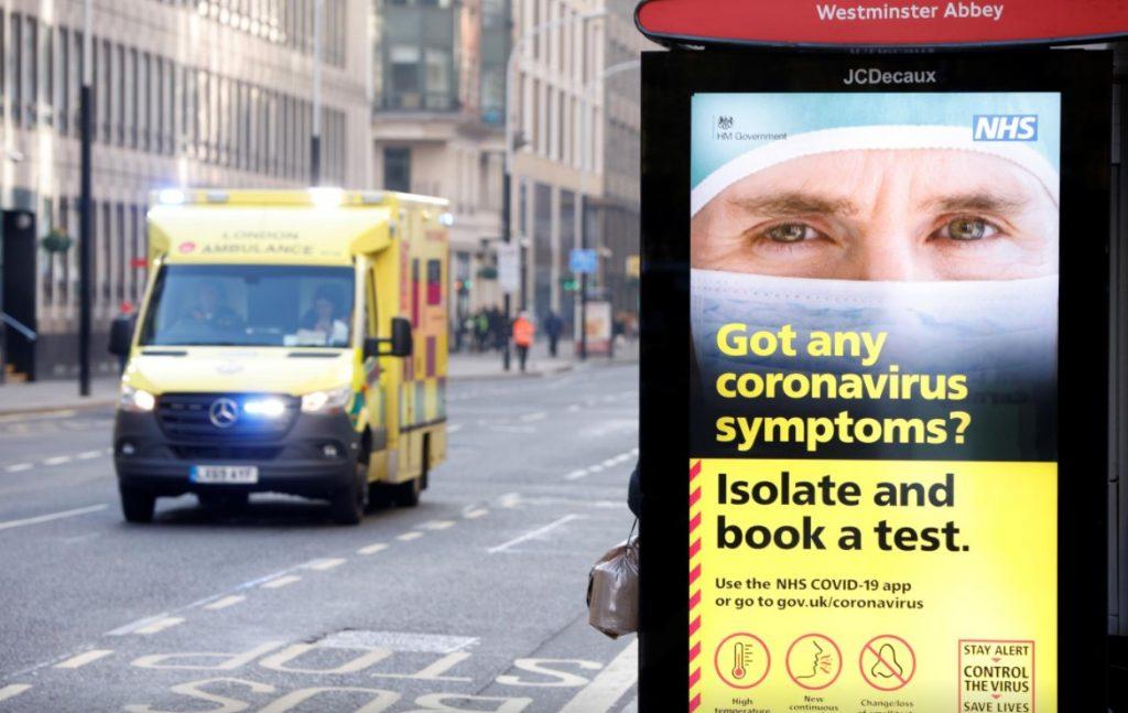 Մեծ Բրիտանիայում վերջին 24 ժամում արձանագրվել է կորոնավիրուսի 18 450 դեպք, մահացել է 506 պացիենտ