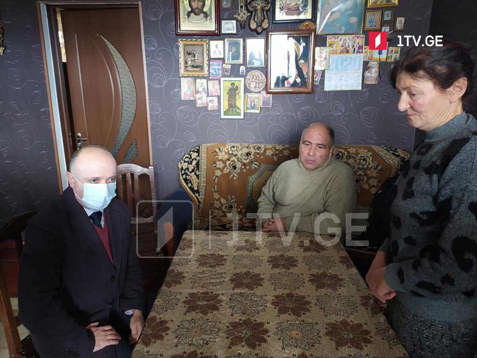 Семью задержанного оккупационным режимом Зазы Гахеладзе ознакомили с результатами Женевских переговоров
