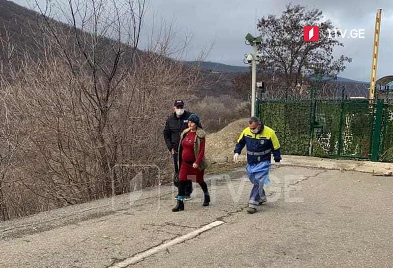 Tskhinvali occupation regime hands pregnant detainee over to Georgia