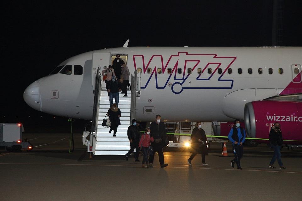 Համավարակի պայմաններում Քութաիսիի միջազգային օդանավակայանում կատարվել է Դորտմունդից առաջին չվերթը