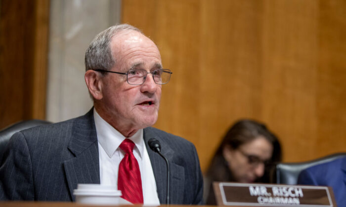 Senator Jim Risch: Ruling parties to refrain from attempts to suppress opposition voice